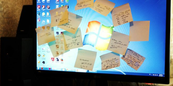 Post-It To Your Screen – 6 Sticky Note Apps For Windows