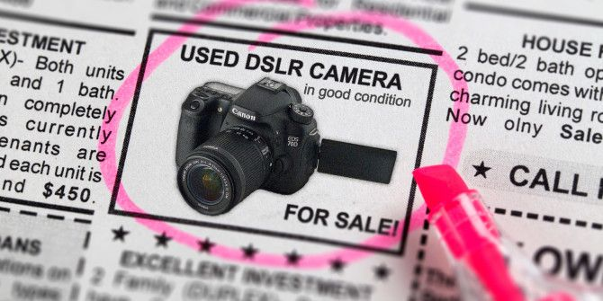 Buying A Used Digital SLR? Wait! 3 Things To Look Out For