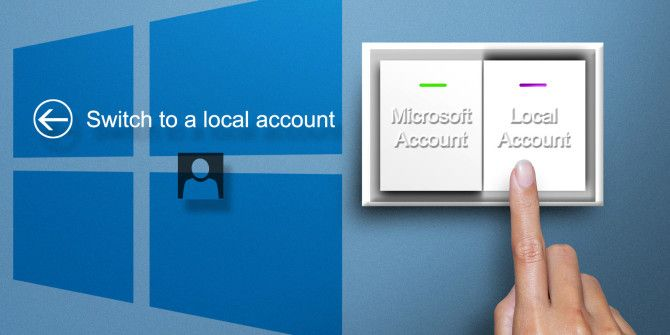 Going Private – How To Switch To A Local Account On Windows 8.1