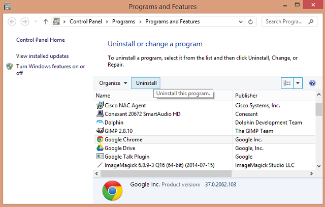 windows-8-uninstall-chrome