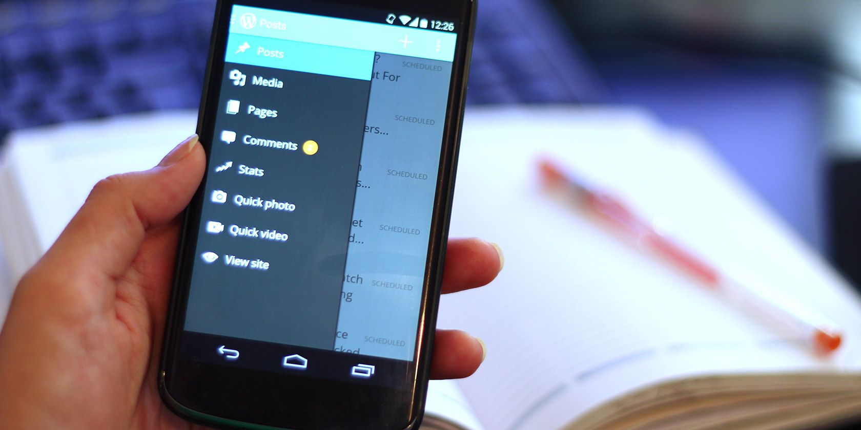 How to Enhance Your Blogging Productivity With Your Android Device