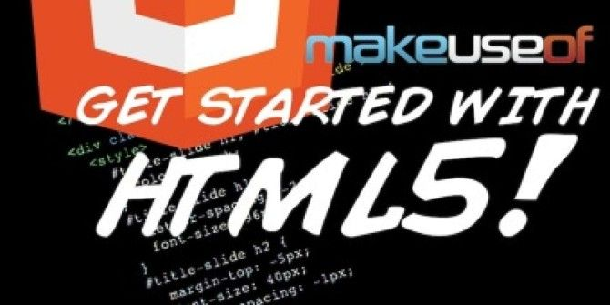 Get Started With HTML5