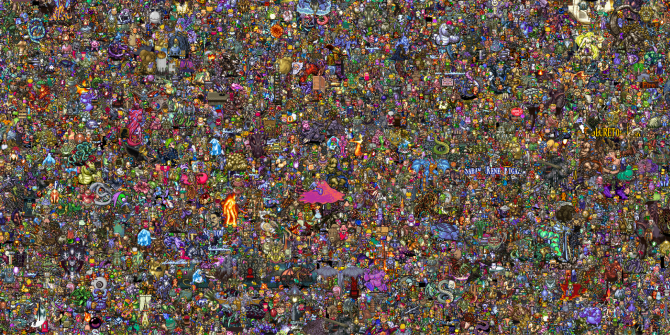 Find Your Favorite Character In This Image Of 13k SNES Sprites