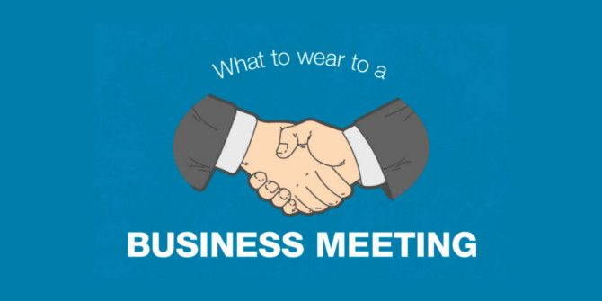 How To Choose Your Attire For A Business Meeting