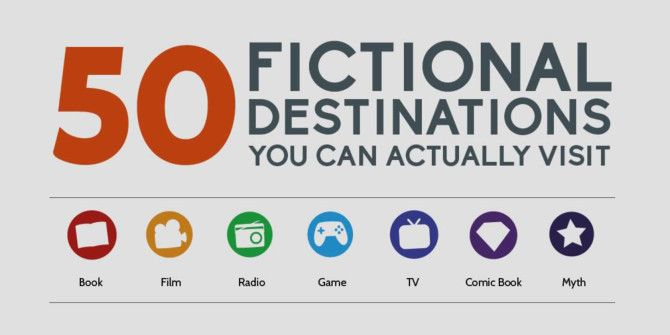 50 Places Based In Fiction You Can Actually Visit