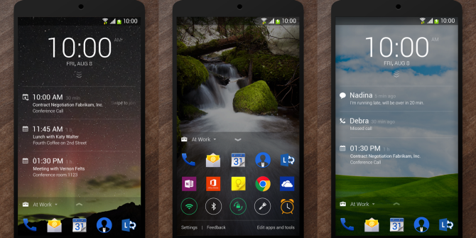Microsoft Made An Android App: Meet Your Next Lock Screen