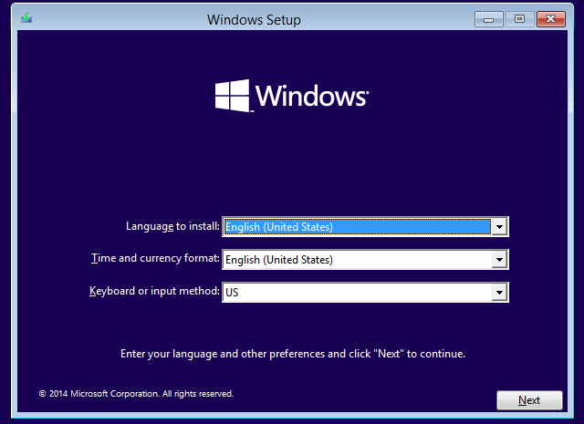 VirtualBox Windows Setup