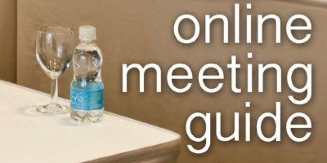 Online Meeting Guide: Software And Strategy