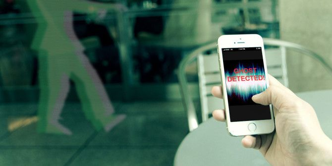 Ghost Hunting With An iPhone: Who You Gonna Call?