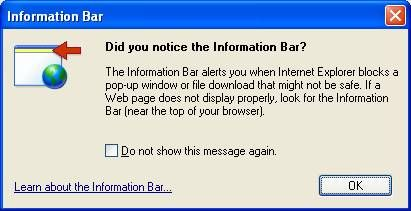 info-bar-Internet-explorer