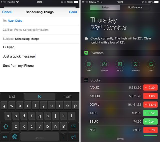 iPhone 6 Plus Review and Giveaway keyb widgets small
