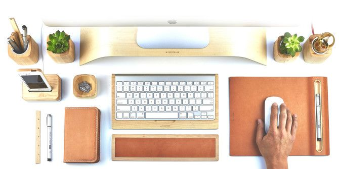 Warm Up Your Workspace With These Organic Office Accessories