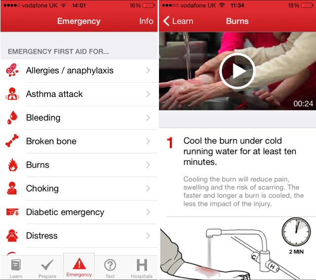 red-cross-first-aid-app
