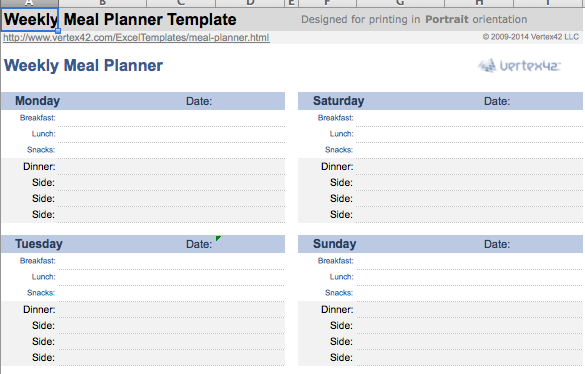 Organizing Finances Template | 10 Amazingly Useful Spreadsheet Templates To Organize Your Life