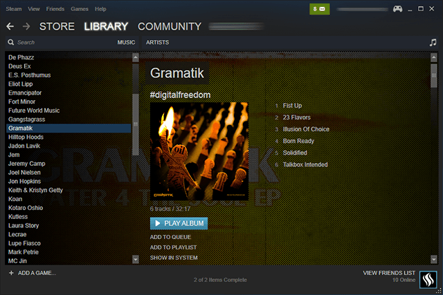steam-music-library-management