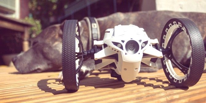 Parrot Jumping Sumo Mini-Drone Review and Giveaway