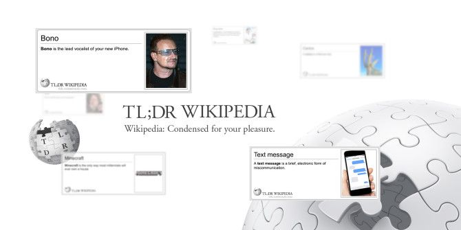Time Is Short: 20 Geeky TL;DR Wikipedia Entries You Need To Read [Weird & Wonderful Web]
