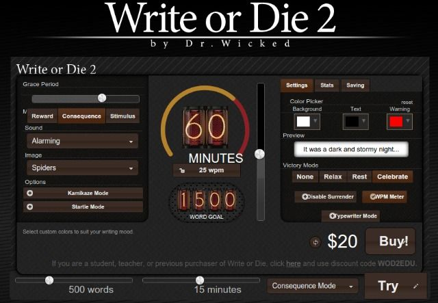 write-or-die-app