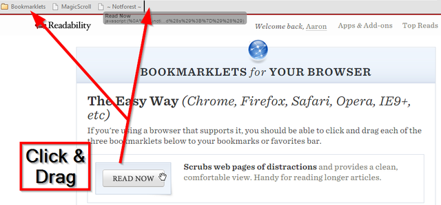 15 Readability Bookmarklets