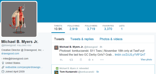 17 Michael B. Myers Jr - Twitter