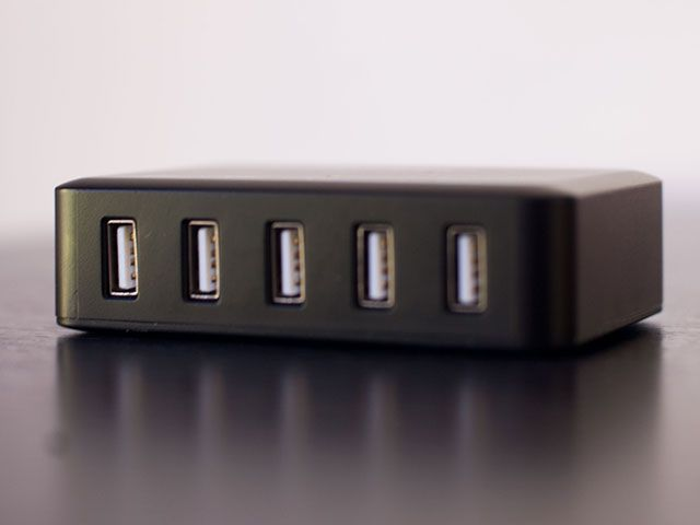 LEPOWER 40w 5-Port USB Charger Review & Giveaway 3s