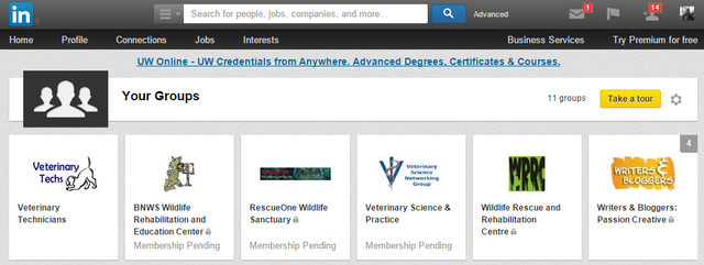 6 LinkedIn - Groups