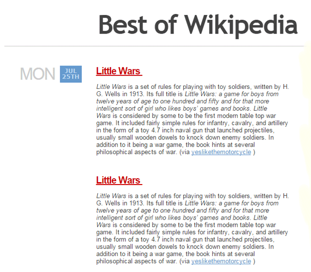 Best of Wikipedia
