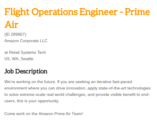 amazon-test-pilot-job