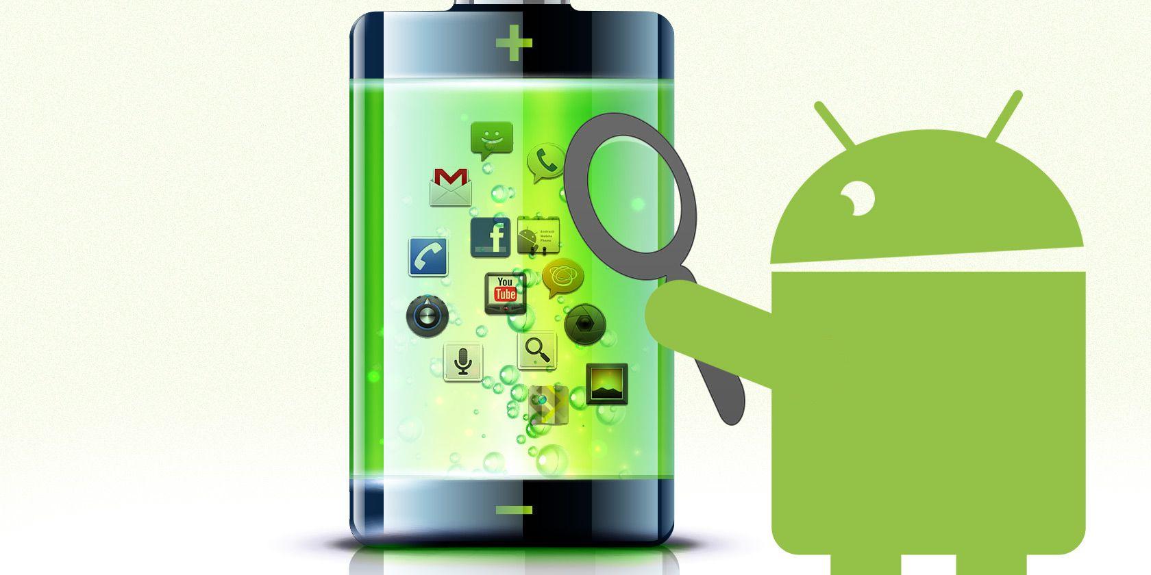 Быстро разряжается телефон Android o 13