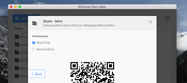 How To Sync Any Files To Your Smartphone Or Tablet Without The Cloud bittorrent sync android qr code