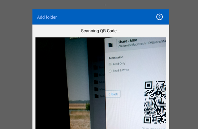 How To Sync Any Files To Your Smartphone Or Tablet Without The Cloud bittorrent sync scan code