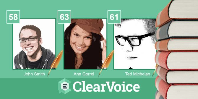 Rank Your Online Writing & Gather Social Influence With ClearVoice