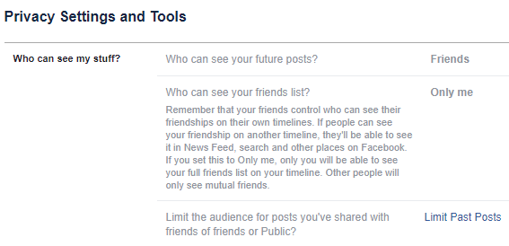 Facebook Photo Privacy Settings You Need To Know About facebook limit privacy