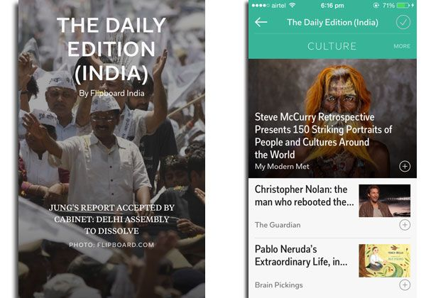 Daily Edition - Flipboard