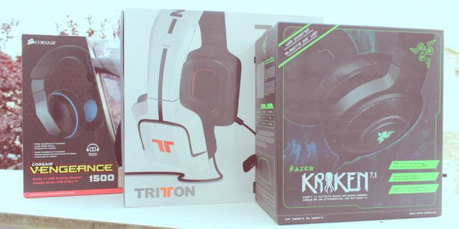 Corsair Vengeance 1500, Razer Kraken Chroma, And TRITTON 720+ Gaming Headset Comparison Review And Giveaway