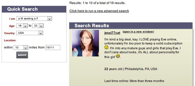 Dating websites for law enforcement