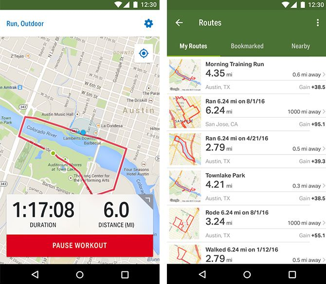 The Best Android Apps hike 1