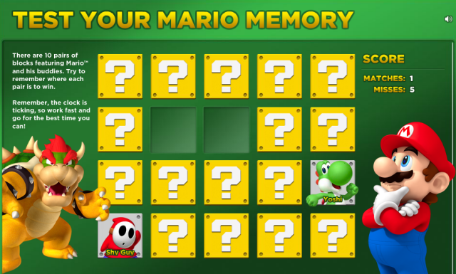 5 Sites For The Mario Lover In Us mariomemory
