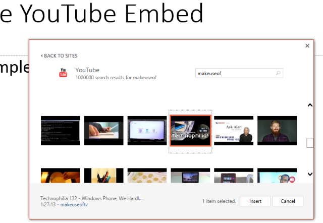 how to make a clise button for youtube embed