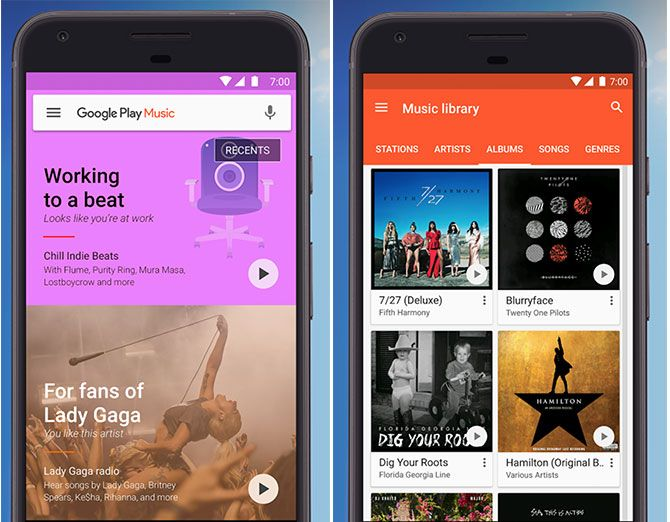 The Best Android Apps music 1