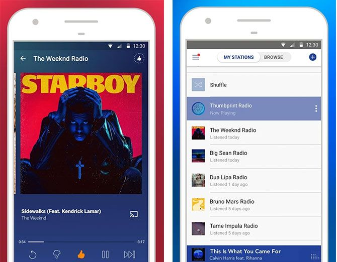 The Best Android Apps pandora 1