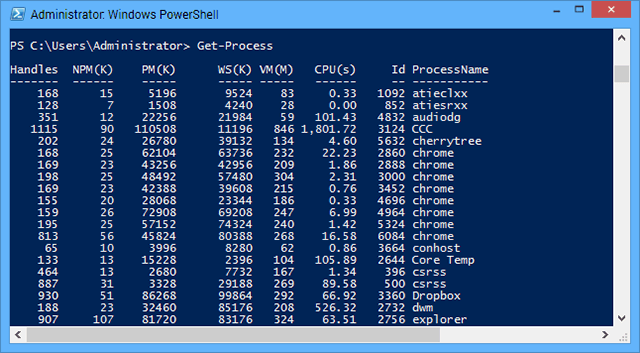 productivity-windows-powershell-process
