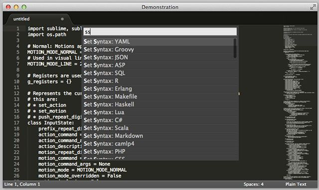 The Best Mac Apps sublimetext