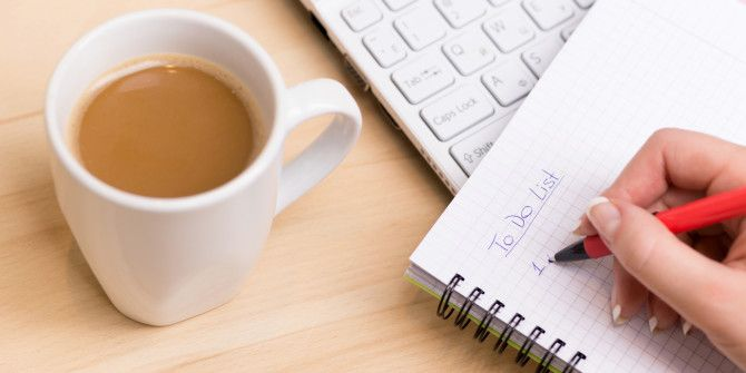 These 3 Types Of Lists Will Help You Be More Productive