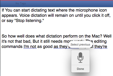 Control Your Mac With Voice Commands & Better Dictation In OS X Yosemite voice dictation corrections