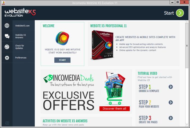 website x5 evolution 8 per mac