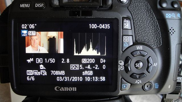 Canon T2i Video Setting #1