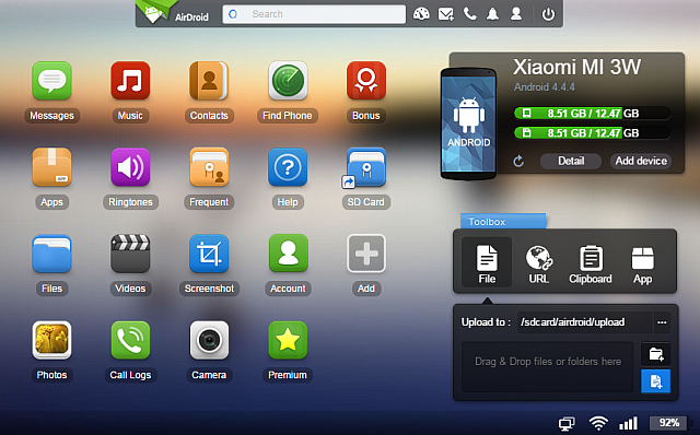 Airdroid-3-Best-Android-Client-For-PC-Mac-Linux-Web-Toolbox-Web-App