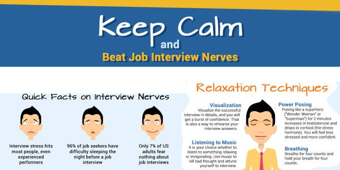 Don't Panic! Tips For Staying Calm At Your Next Job Interview