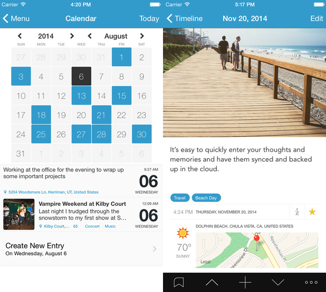 Best-iphone-ipad-apps-gifts-2014-Day-One